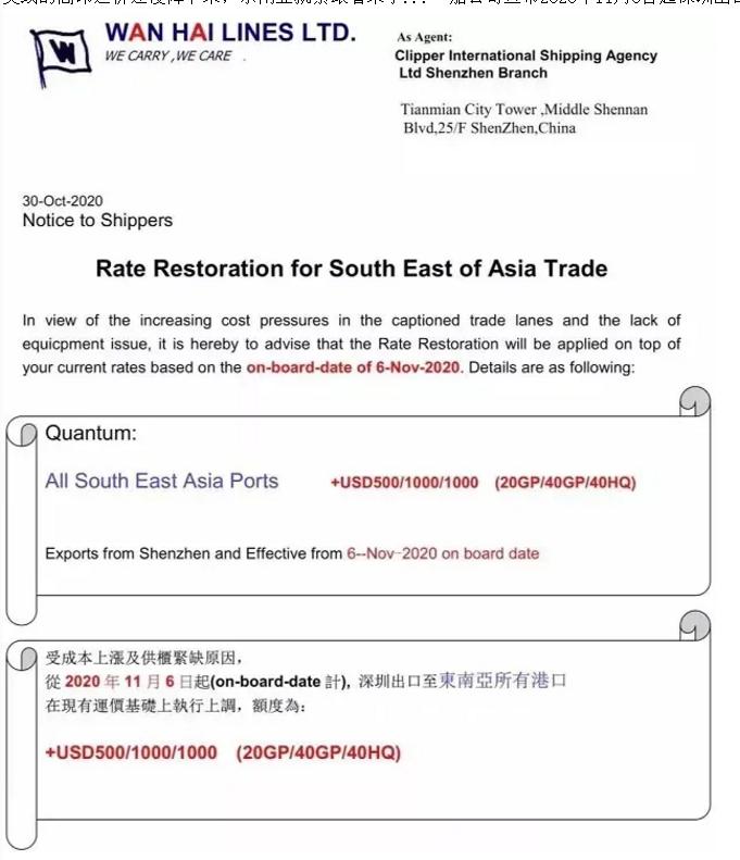 东南亚航线暴涨1000美金!木材进出口市场再迎严峻考验.png