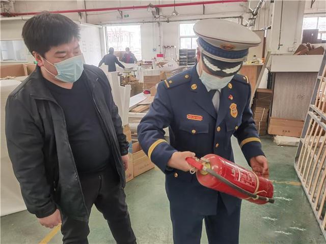 河北永清开展木材加工企业消防安全宣传活动