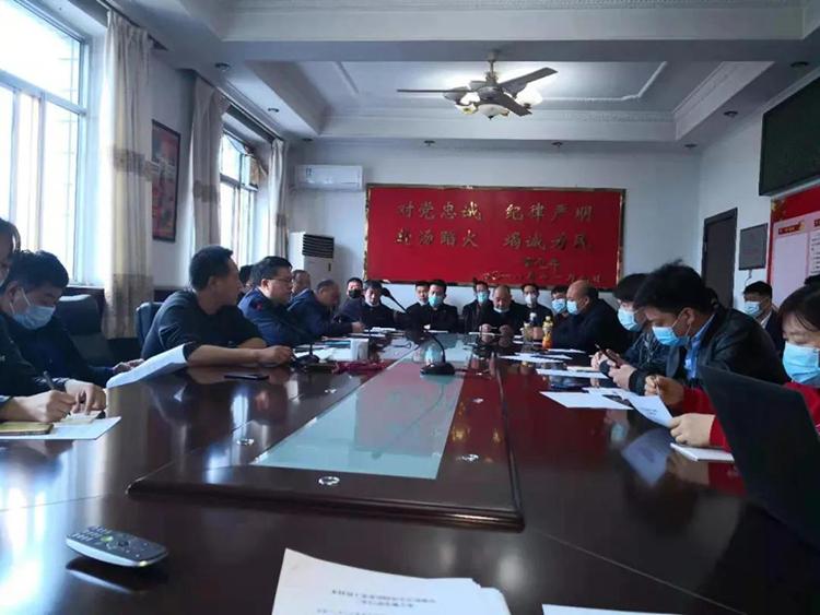 探沂镇召开费县木业工业互联网建设座谈会